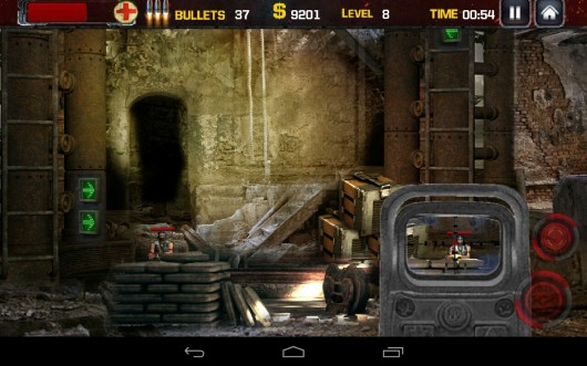 Trigger Down - перестрелка с террористами на Samsung Galaxy
