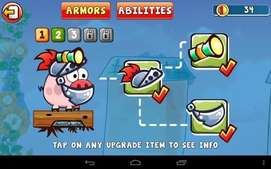 Turbo Pigs - неугомонные свиньи на Samsung Galaxy