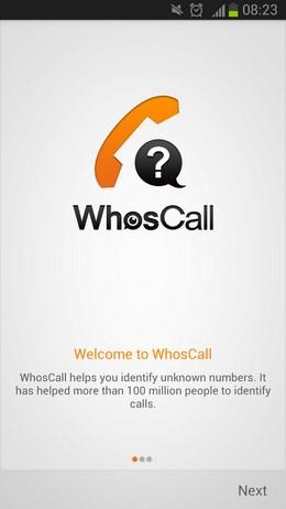 WhosCall – фильтр звонков и SMS