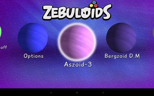 Zebuloids - головоломка с монстриками для Samsung Galaxy