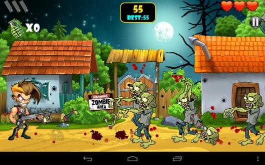 Zombie Area! - мочи зомби! Аркада для Samsung Galaxy