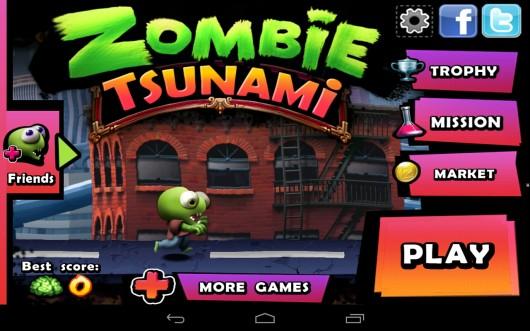 Zombie Tsunami - возглавь волну зомби