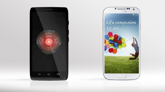 Видео сравнение Samsung Galaxy S4 и Motorola DROID Ultra