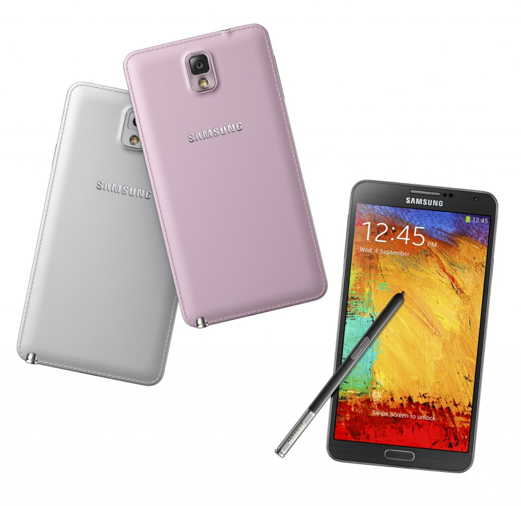 Samsung GALAXY Note III - знакомство со всеми подробностями