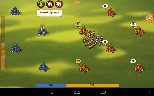 Война грибов - тактическая стратегия для Samsung Galaxy