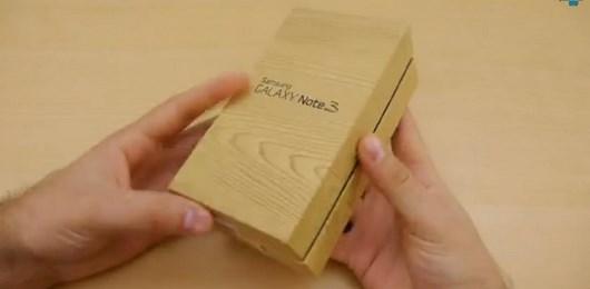 Samsung Galaxy Note 3: давайте заглянем в коробку