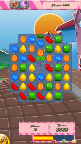 Candy Crush Saga – конфетная страна