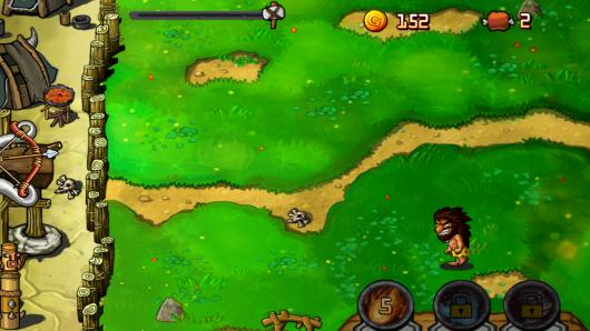 Stone Defense – доисторическая оборона