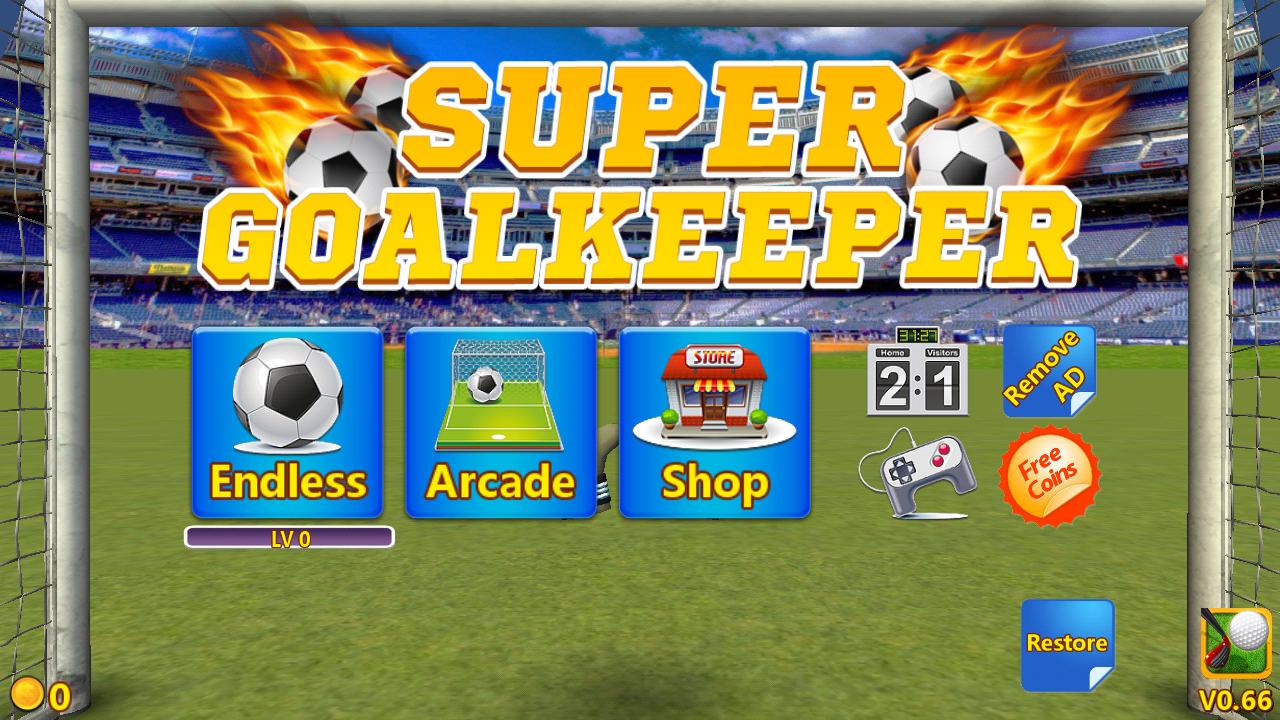 Super Goalkeeper – защитник ворот