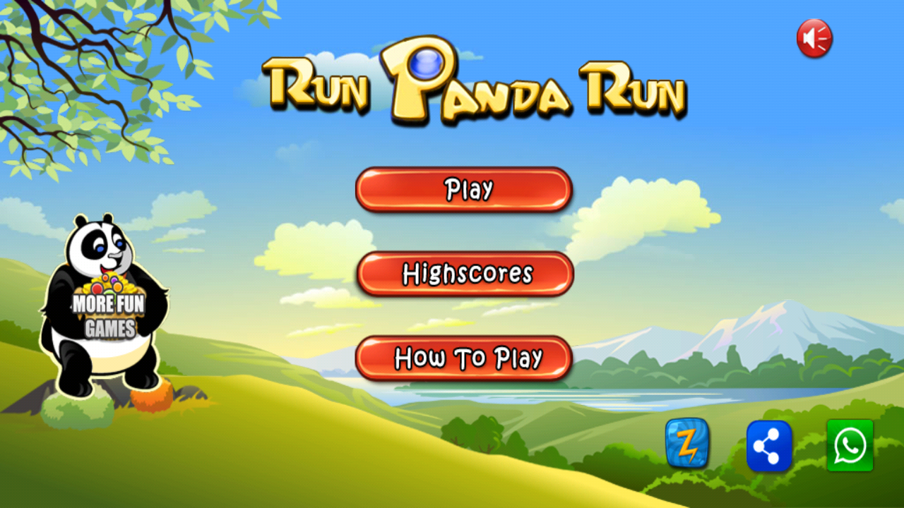 Run Panda Run – бегущая панда