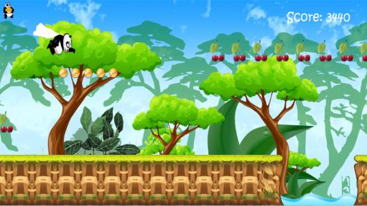 Run Panda Run – бегущая панда для Android