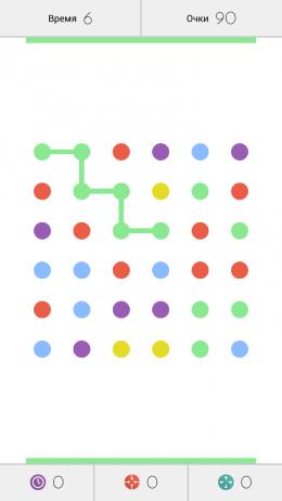Dots – соединяем точки для Android