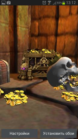 Забытая гробница – череп и золото