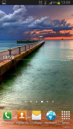 WooDFox Clock Panel Lite – виджет часов и информации