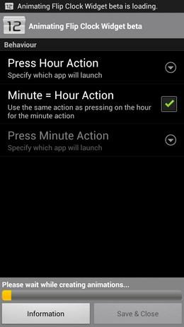 Animating Flip Clock Widget – простенькие часы