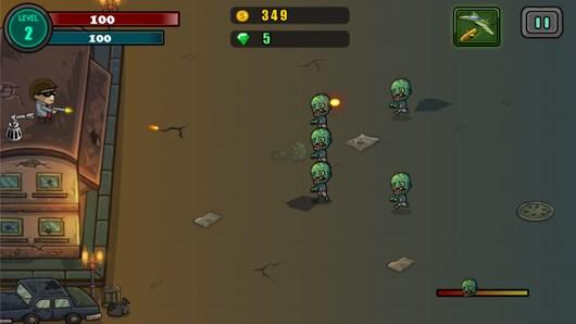 Zombie Defense – нападение зомби