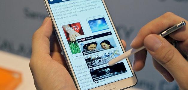 Открываем любое приложение в Pen Window на Galaxy Note 3