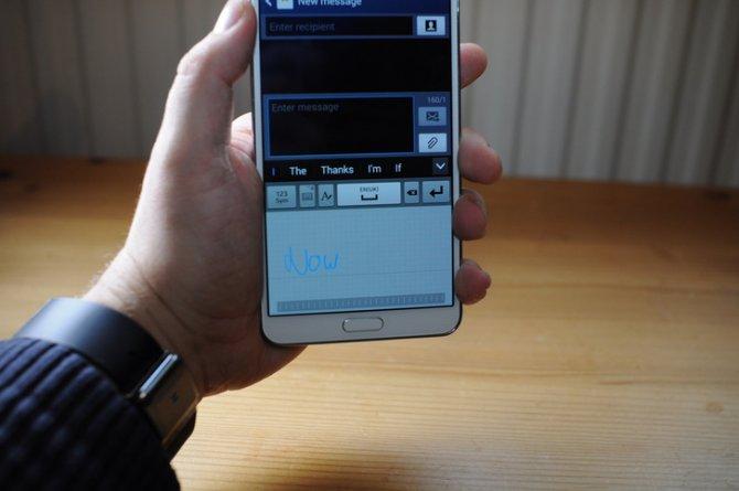 Исправление проблемы с рукописным вводом текста вашем Galaxy Note 3