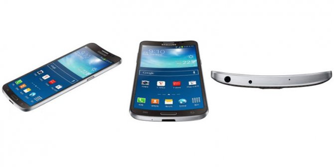 Первое рекламное видео Samsung Galaxy Round