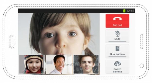 Samsung Galaxy S5 с функцией видеоконференции для нескольких участников