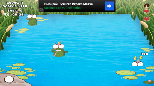 Whack The Frog Lite – бьем жабок для Android