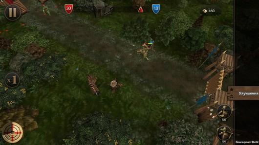 Стратегия FirstWoodWar - война деревьев для Android