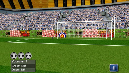 Flick Football Soccer Sports – лучший бомбардир для Android