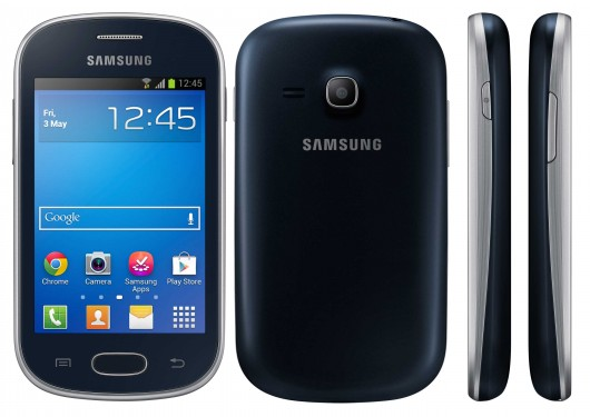 Samsung Galaxy Fame Lite в черном корпусе