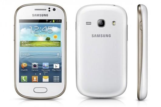 Samsung Galaxy Fame Lite в белом корпусе