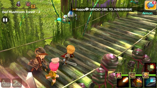 РПГ игра HELLO HERO -развиваем героев и сражаемся с монстрами для Android