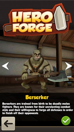 Hero Forge – сражение-головоломка для Android