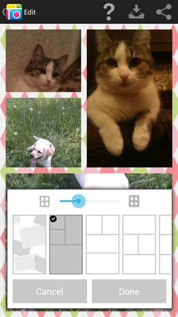 Pic Collage – прикольные коллажи для Android