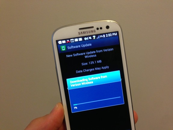Galaxy s3 дата обновления