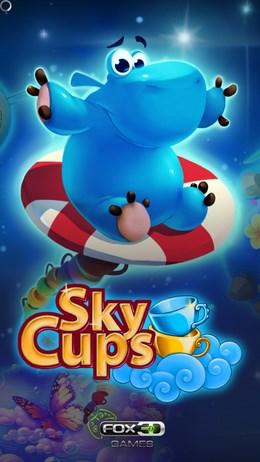 Аркада Sky Cups - уничтожаем чашки для Android