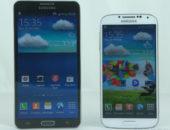 Сравнение Samsung Galaxy Note 3 и Samsung Galaxy S4 в видео