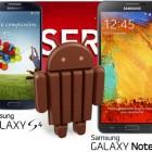Samsung Galxy S4 и Galaxy Note 3 получат обновление Android 4.4 KitKat в конце января