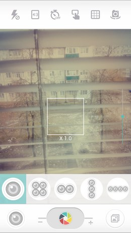 Приложение камеры с фильтрами CandyCamera для Android