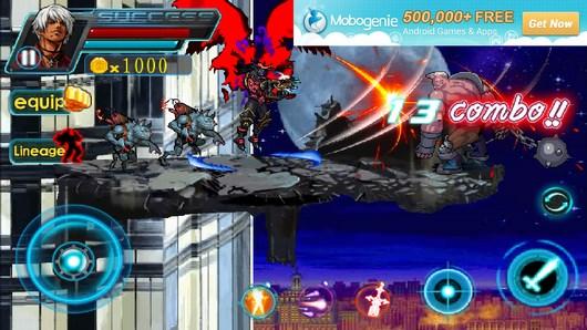 Игра-платформер с активным геймплеем War Hero: Crazy Shooter для Android