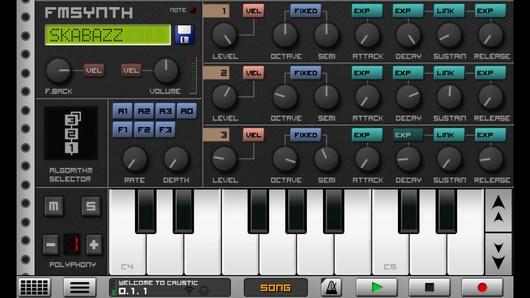 Создаем музыку в мощной программе Caustic 3 для Android