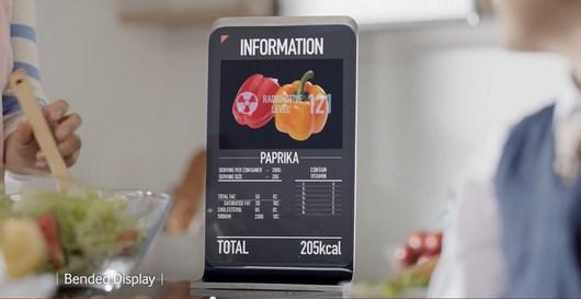 Видео концептуальных дисплеев от Samsung