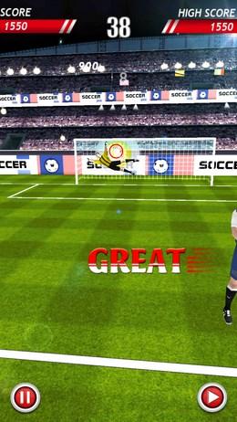 SoccerKicks - нтрафные и пенальти для Android
