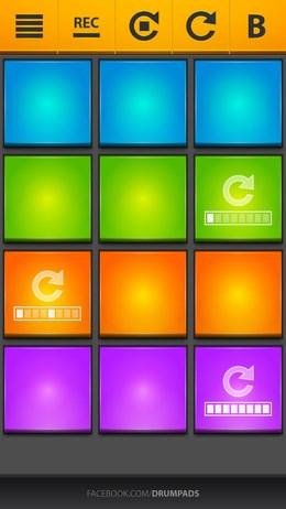 Виртуальная драм машина Drum Pads 24 для Android