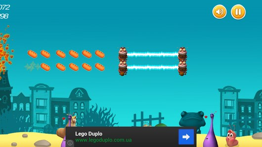 Приключения личинки Farting Larva для Android