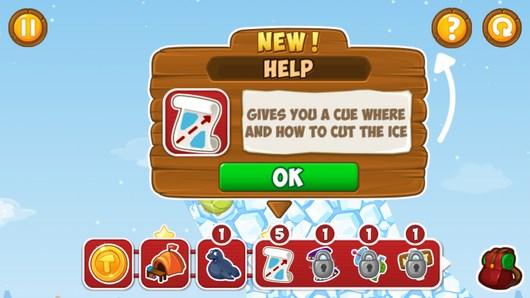 Спасаем зверей в головоломке Frozen Tails для Android