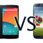 Сравнительный обзор Google Nexus 5 и Samsung Galaxy S4