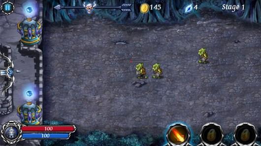 Эпическая оборона замка в фентези аркаде Hero of Magic для Android