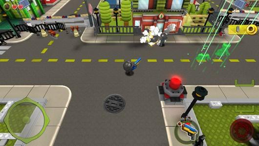 Освобождение города KRE-O CityVille Invasion для Android