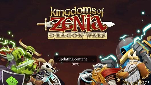 Станьте королем драконов в стратегии Kingdoms of Zenia для Android