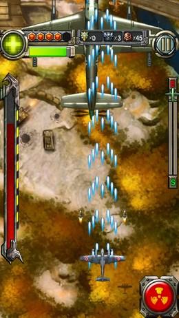 Аркада Lightning Fighter Raid 1949 - станьте лучшим военным пилотом для Android