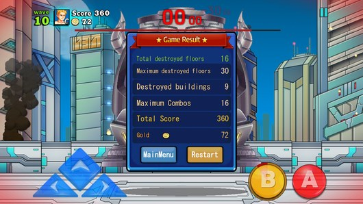 Защита от инопланетян - Mega Slash для Android